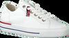 PAUL GREEN Baskets basses 4760-006 en blanc  - small