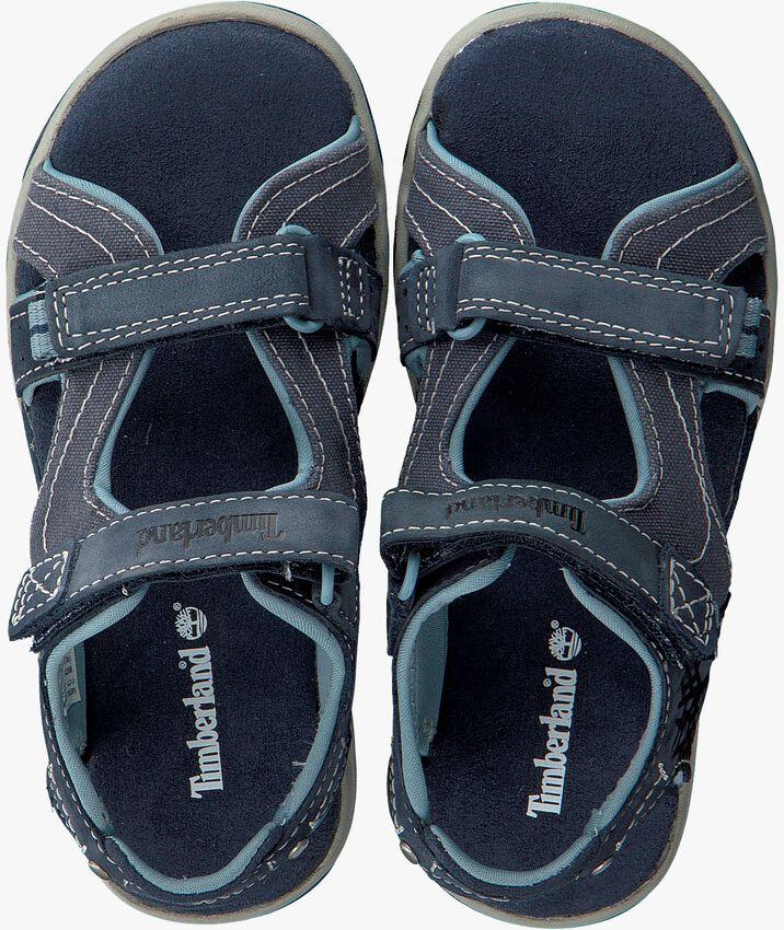 Blauwe TIMBERLAND Sandalen PARK HOPPER L/F 2 STRAP KIDS  - larger
