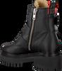 NUBIKK Biker boots FAE BUCKLE FUR en noir  - small