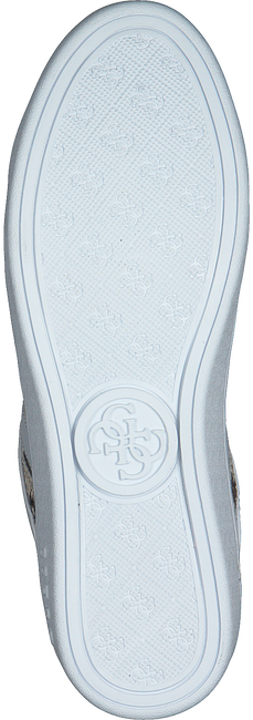 GUESS Baskets basses BOLIER en blanc  - large