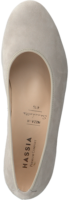 Beige HASSIA Instappers NIZZA  - large