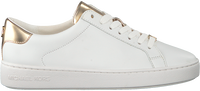 MICHAEL KORS Baskets IRVING LACE UP en blanc - medium