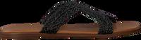 Zwarte NOTRE-V Slippers 443018  - medium
