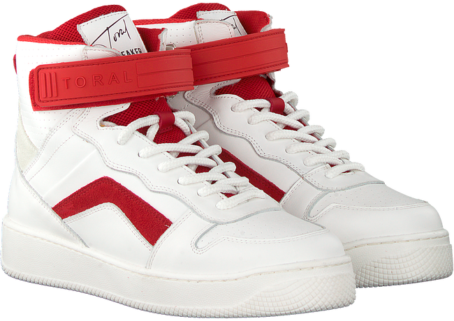 Witte TORAL Hoge sneaker 12407  - large