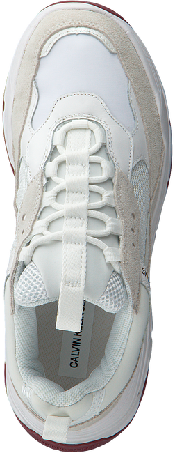 CALVIN KLEIN Baskets basses MARVIN en blanc  - large