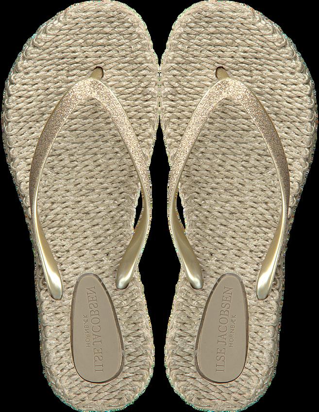 Gouden ILSE JACOBSEN Slippers CHEERFUL01 - larger