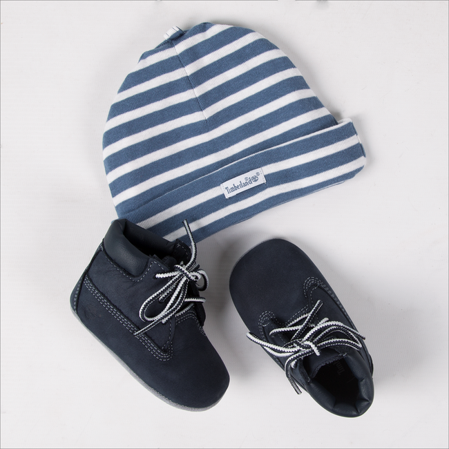 TIMBERLAND Chaussures bébé CRIB BOOTIE en bleu - large