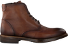 GIORGIO Bottines à lacets HE35683 en marron  - small
