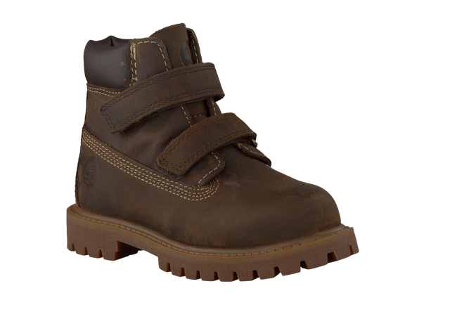 TIMBERLAND Bottillons 6'INCH HOOK AND LOOP BOOT en marron - large