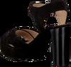 UNISA Sandales VIKEN en noir  - small