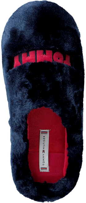 Blauwe TOMMY HILFIGER Pantoffels TOMMY WOMENS FUR  - large