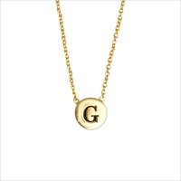 Gouden ATLITW STUDIO Ketting CHARACTER NECKLACE LETTER GOLD - medium
