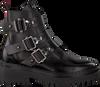 Zwarte NUBIKK Biker boots FAE BUCKLE  - small