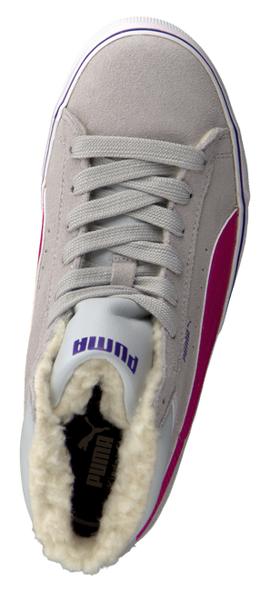 PUMA Baskets PUMA MID VULC FUR JR en gris - large
