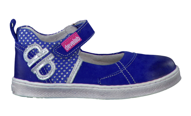 DEVELAB Ballerines 5201 en bleu - large