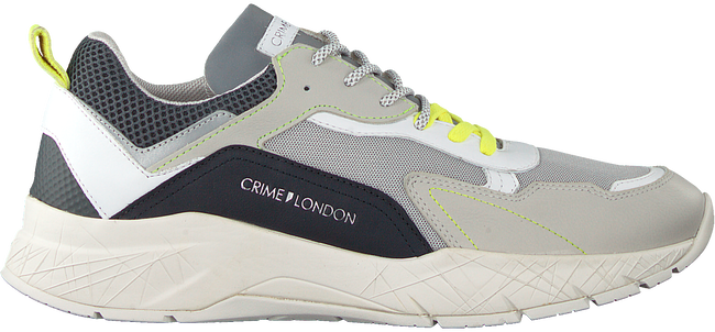 Grijze CRIME LONDON Lage sneakers KOMRAD 2.0  - large