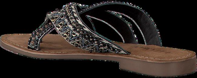 LAZAMANI Tongs 75.526 en noir - large