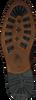 GAASTRA Bottines à lacets CREW HIGH BOAT en cognac  - small