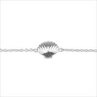 Zilveren ATLITW STUDIO Armband SOUVENIR BRACELET SEA SHELL - medium