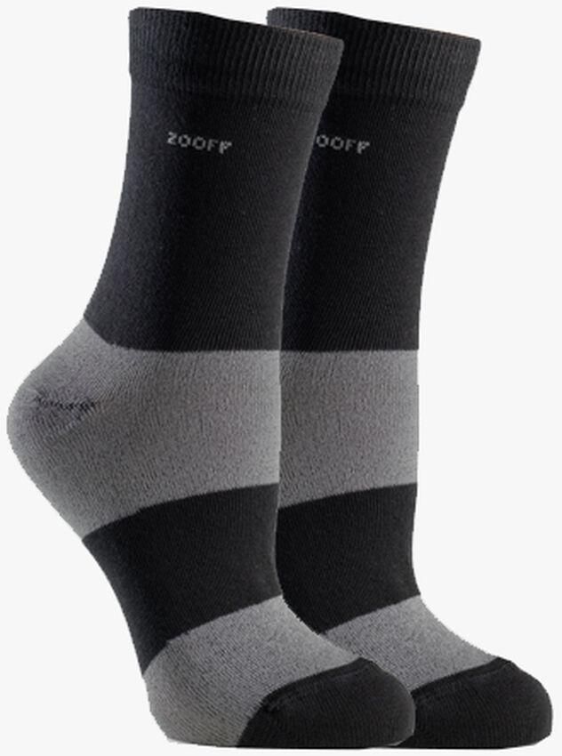 Zwarte ZOOFF Sokken SKIM - larger