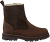 TIMBERLAND Bottillons COURMA KID WARM LINED en marron  - small