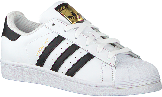 ADIDAS Baskets SUPERSTAR J en blanc - large