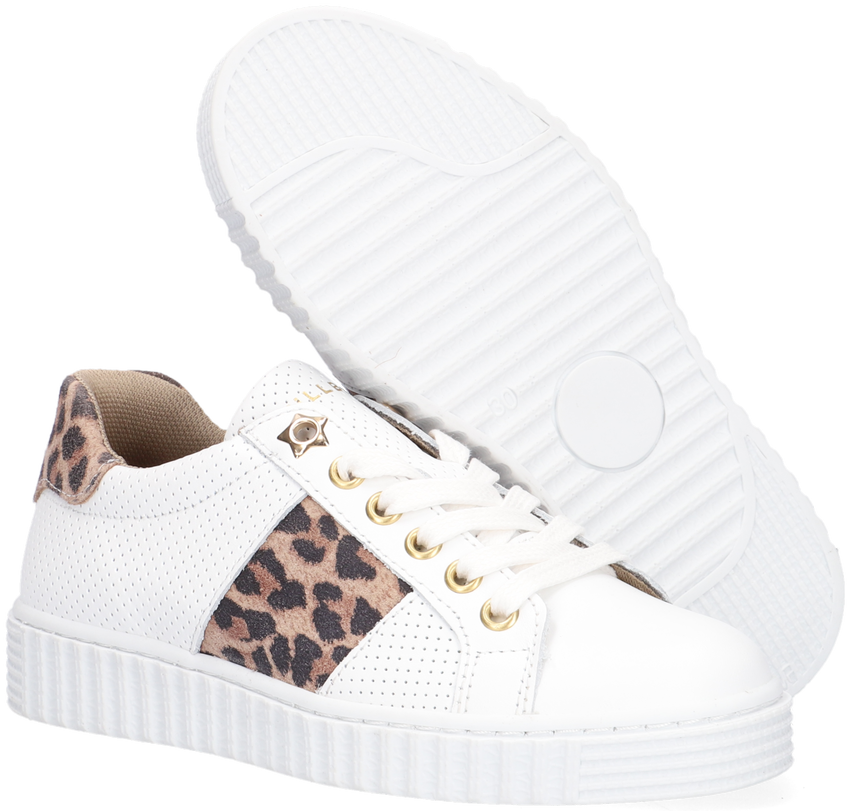 Witte BULLBOXER Lage sneakers AIB006ESL  - larger