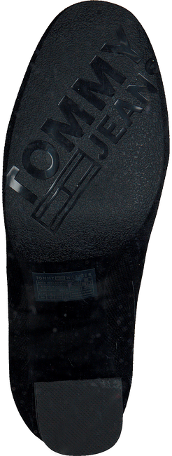 TOMMY HILFIGER Bottines SOCK HEELED BOOT en noir  - large