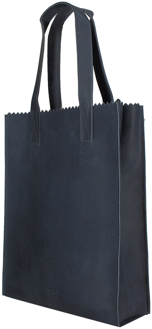 MYOMY Sac à main LONG HANDLE ZIPPER en bleu - large