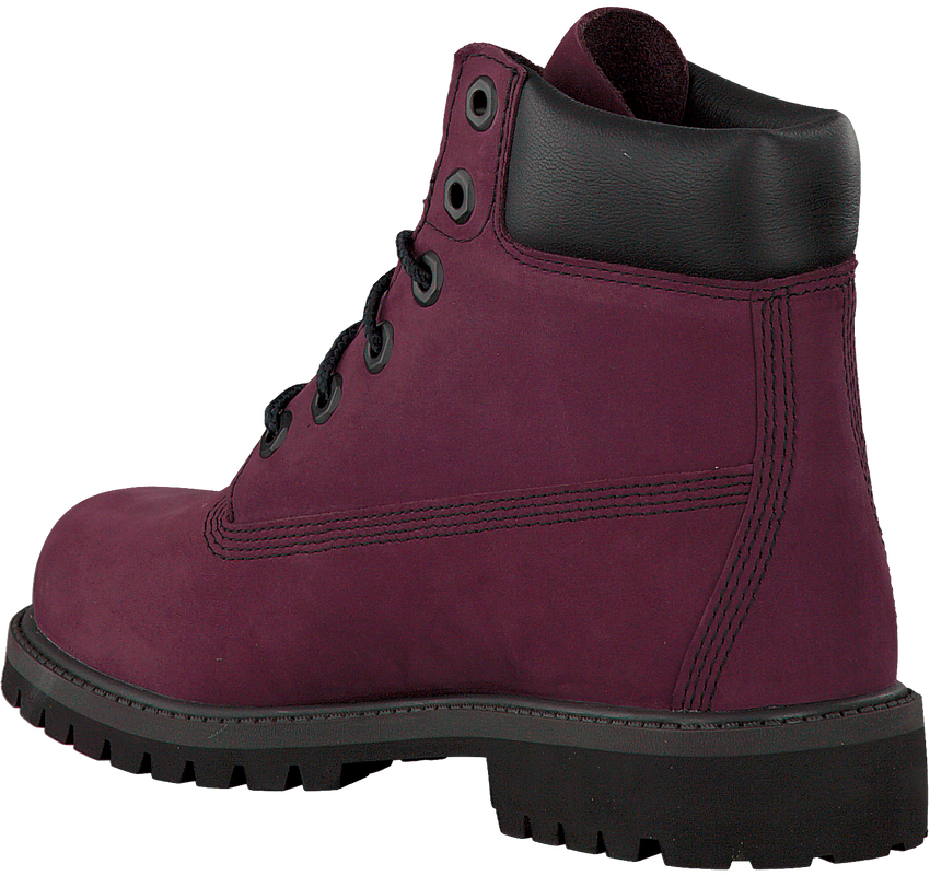 Paarse TIMBERLAND Enkelboots 6IN PRM WP BOOT KIDS  - larger