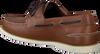 TOMMY HILFIGER Chaussures à enfiler CLASSIC BOATSHOE en marron  - small