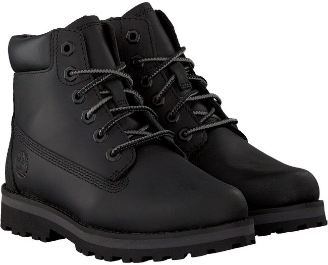 Zwarte TIMBERLAND Veterboots COURMA KID TRADITIONAL 6 INCH  - large