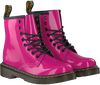DR MARTENS Bottines à lacets DELANEY/BROOKLY en rose - small