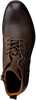 OMODA Bottines à lacets 8004 en marron - small