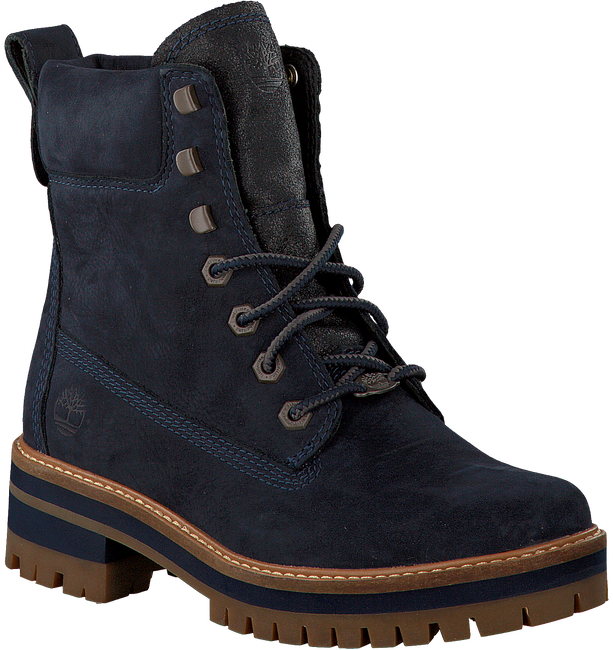 TIMBERLAND Bottillons COURMAYEUR VALLEY YB en bleu - large