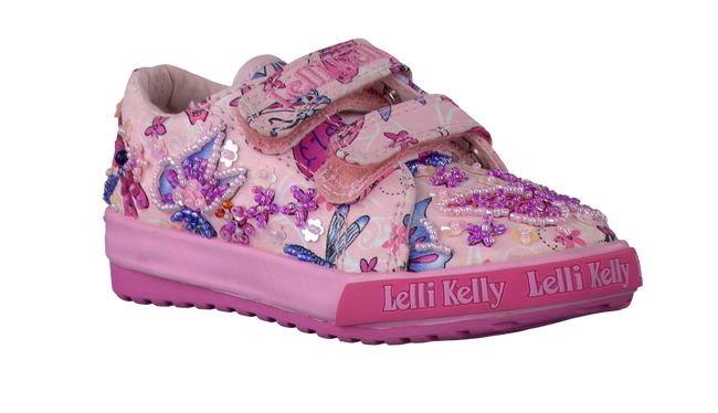 LELLI KELLY Baskets FLUTTERBY en rose - large