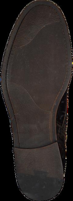 OMODA Bottines à lacets 8004 en marron - large