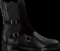 Zwarte PERTINI Enkellaarsjes 30060  - medium
