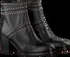 Zwarte JANET & JANET Enkellaarsjes 40302  - small