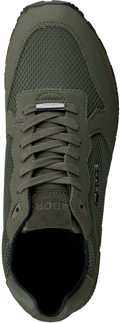 BJORN BORG Baskets R605 LOW KPU M en vert - large