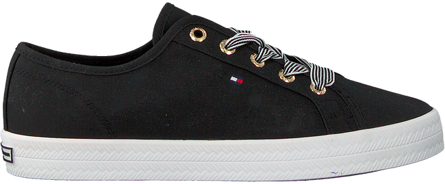 Zwarte TOMMY HILFIGER Lage sneakers ESSENTIAL NAUTICAL  - large