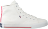 Witte TOMMY HILFIGER Hoge sneaker MIDCUT ESSENTIAL  - small
