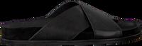 Zwarte VIA VAI Slippers VERA LIV - medium
