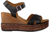 Zwarte VERTON Sandalen 52103  - small