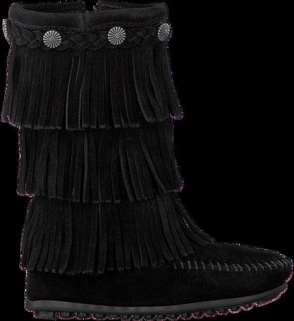 Zwarte MINNETONKA Lange laarzen 2659  - large