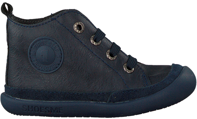 SHOESME Chaussures bébé BF8W001 en bleu - large