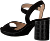 UNISA Sandales OMERCI en noir  - small