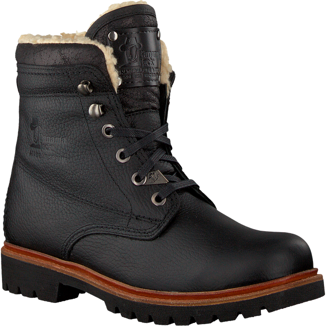 PANAMA JACK Bottines à lacets NEW AVIATOR B4 en noir - large