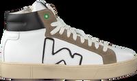 Witte WOMSH Hoge sneaker BASK  - medium