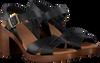 OMODA Sandales 4538 en noir  - small